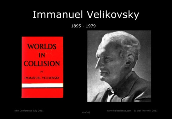 Velikovsky Worlds in Collision