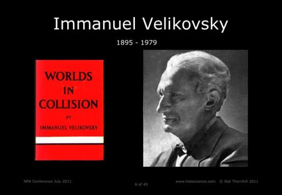Velikovsky Worlds in Collision
