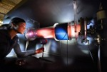 While plasma studies may focus on a single subject such as fusion energy production, the understanding of how the Universe operates also awaits the student with a wider interest.  Image credit:  DOE-Princeton Plasma Physics Lab; Peter Ginter
