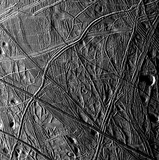 Chaotic terrain on Europa