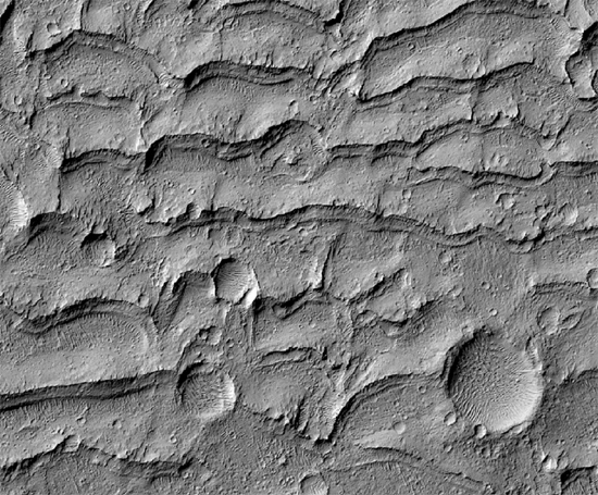 Medusae Fossae on Mars