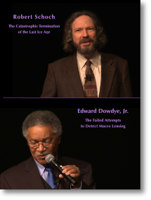 Robert Schoch and Edward Dowdye Jr. eu2012 lectures