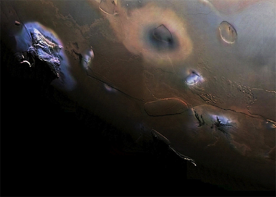 The south polar region of Io