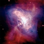 The Crab Nebula pulsar, a theoretical neutron star. Credit: NASA/CXC/ASU/J. Hester et al.