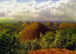 The Chocolate Hills, Bohol, Philippines.