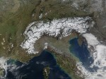 The Alps from space. Credit: Jacques Descloitres, MODIS Land Rapid Response Team, NASA/GSFC