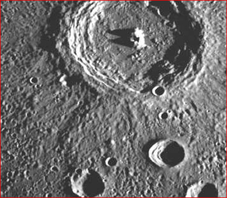 planets moons craters - photo #27