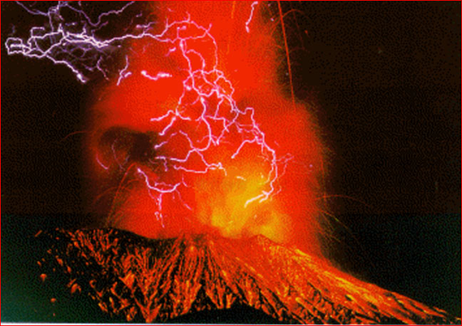 Credit Sakurajima Volcananological Observatory Caption Sakurajima volcanic lightning May 18 1991. : volcanic lighting - azcodes.com