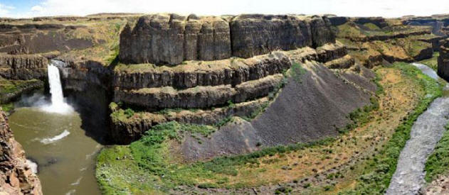 a paper on the channeled scab lands of eastern washington