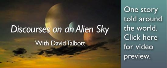 Discourses on an Alien Sky January 2015
