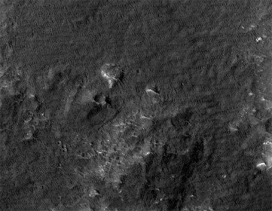Inside Eberswalde crater
