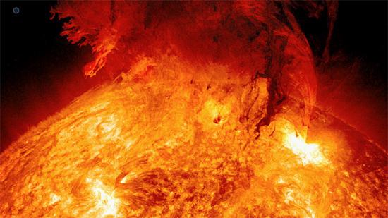 Massive solar explosion on June 7, 2011