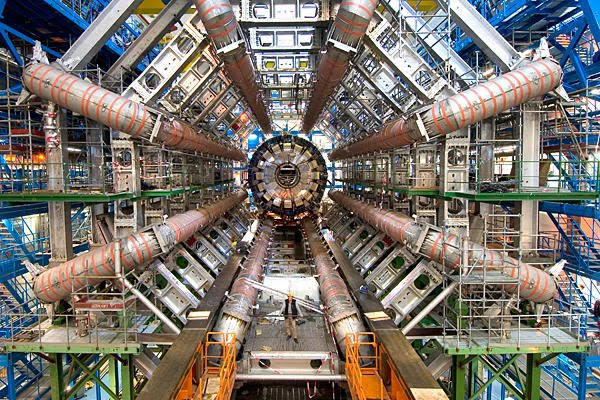 The ATLAS particle detector