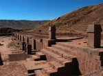Ruins of Tiwanaku in Bolivia