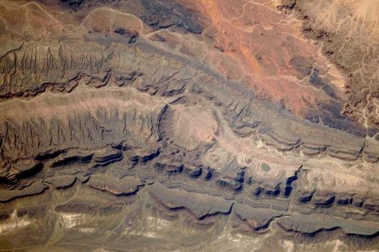 Oarkziz crater, Algeria