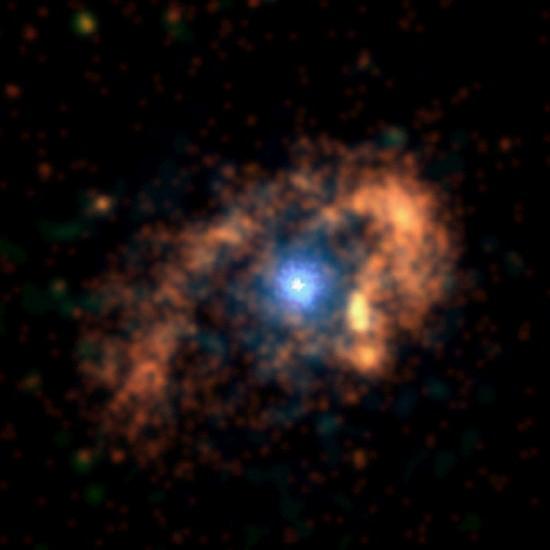 Eta Carina in X-ray wavelengths. Credit: NASA/CXC/SAO