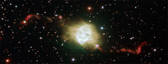 The planetary nebula Fleming 1 seen with ESO's Very Large Telescope Credit: ESO/H. Boffin