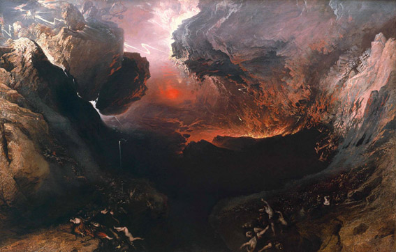"""The Great Day of His Wrath"" — John Martin c. 1853"