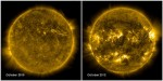 The Sun's changing electromagnetic field. Credit: NASA/SDO.