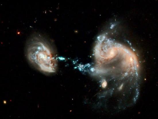 Galactic grouping Arp 194. Credit: NASA, ESA, Hubble Heritage Team (STScI/AURA)