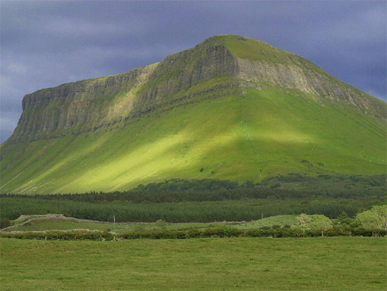 Ben Bulben, County Sligo, Ireland. Image: Andrew C. Parnell