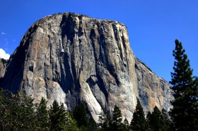 El Capitan, a giant granite monolith in Yosemite National Park. Image Credit: Mike Murphy.
