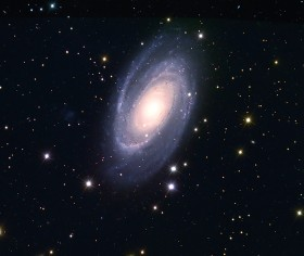 "Galaxy M81 (NGC 3031, ""Bode's Galaxy""). Image credit: © Don Scott The Holin A. Grotch Observatory"