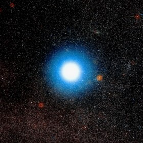 The closest exoplanet is thought to be orbiting Alpha Centauri. Credit: ESO/Digitized Sky Survey 2. Acknowledgement: Davide De Martin