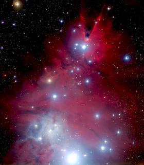 The Christmas Tree Cluster (NGC 2264). Credit: ESA/NASA