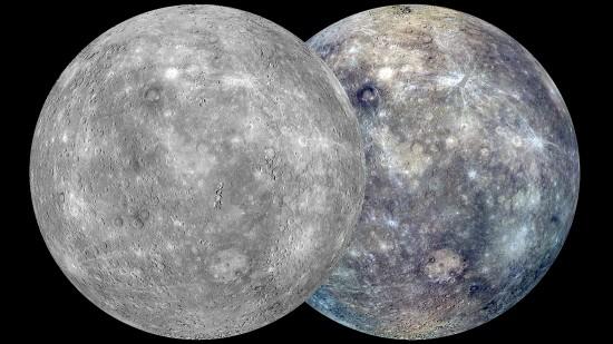 The planet Mercury. Credit: NASA/Johns Hopkins University APL/ Carnegie Institution of Washington