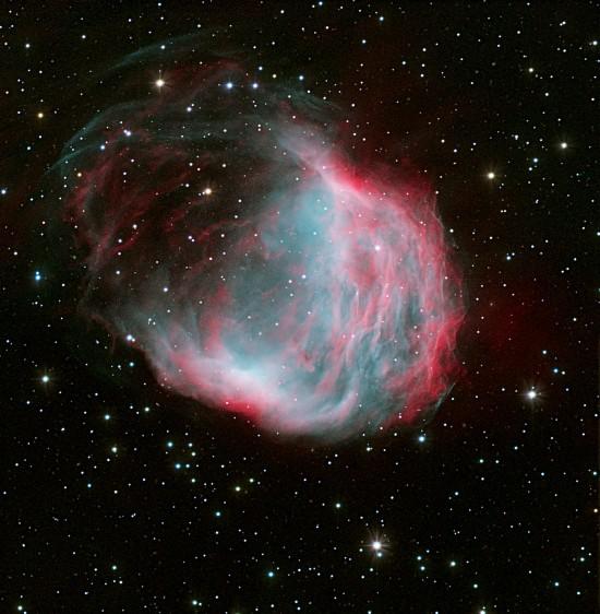 The Medusa Nebula. Credit: Pablo Rodríguez-Gil, Pablo Bonet and Roger Gimeno.