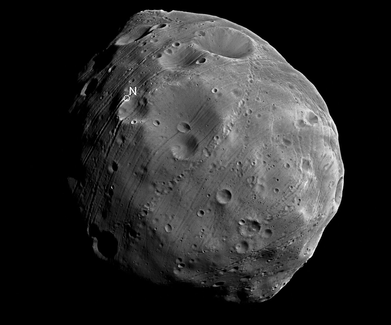 The Electric Universe Phobos