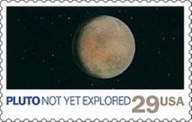 Pluto Stamp -- USPS_Pluto_Stamp_-_October_1991 691X440