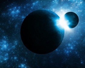 SPACE NEW -- PLANETS COLLIDING planet-collision-fantasy-wallpaper-550x440